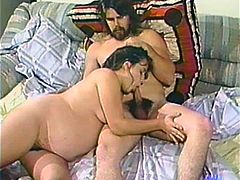 Take a look to this retro video where a future mother gets screwed intensely by a guy with his big dick. She certainly knows how to suck a cock with passion!