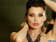 Aletta Ocean is one of the most glamorous pornstars ever. Watch her posing in her super sexy lingerie showing of her superhot body!