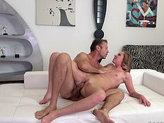 Rocco Siffredi and Angie Koks are having some good time together. They fondle each other ardently and then Rocco drills Angie's pussy and asshole brutally.