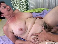 ugly Old granny fat horny