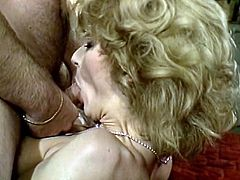 Sensationally hot blonde babe serves her hungry snatch and asshole for two big cocks in threesome. Brazen bitch gets ruthlessly double penetrated.