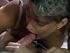There's nothing like watching these hot lesbians pleasing one man in bed. Sexy bimbos lick this stud's dick with unbridled passion. Then he fucks them one by one in their sweet pussies.