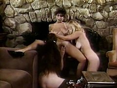 The ultimate fantasy comes to life as three lesbians get together to explore each other's snatches with their tongues. Check out this amazing lesbian sex scene now and get ready to cum.