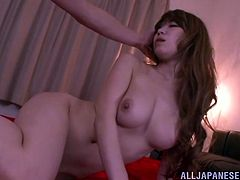 Check this hardcore scene out where the sexy Yuuka Minase is fucked silly by this guy as you hear her moan.