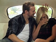 The blonde thought this guy just wanted to fuck her. Well, she was right! As Eric said, any date with Eric is a real date, and the blonde will soon gonna have a date with his cock too! The dude tries to kiss her when the brunette shows up. Finally the blonde meets his dick and wraps her sweet lips around it.