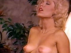 Watch steamy retro porn scene from The Classic Porn studios! Blonde beauty gets her tasty shaved cunt licked and fucked missionary style. Whore also rides her man in reverse cowgirl pose.