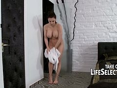 Aletta Ocean can be seen in solo scenes, gang-bang scenes and in girl on girl scenes. She and her stunning friends, Aleska Diamond and Barbie White so lots of naughty stuff together.