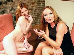 Silvia Saint is the interviewer and she is going to ask Tara to give some erotica and strip off for her! Babe does it with some pleasure!
