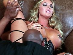 Watch this blonde chick Samantha Saint with her massive titties getting her pussy banged really hard in Wicked sex clips.