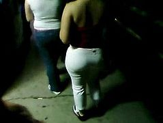 PAWG outside the club
