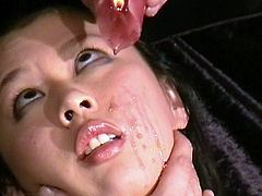 Chinese sadism of Big-Titted Thai slavegirl Tigerr Benson in hotwax slavery and big smut fetishes of