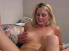 Two horny lesbians are trying their best to make each other cum. They finger and lick each other's vaginas and then drill them with dildos and strapons.