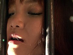 Blow minded crazy dawgs roped whorish small boobs poor Asian slut in cell and started playing cruel dirty games with her mouth. Watch this cruel 3some fuck in Jav HD porn clip!