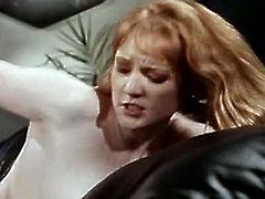 Blond head sizzling hootchie lies leg spread. Her small tits dark haired horny female partner jumps on her and attacks her dirty hole with huge poke stick. Take a look at these kinky lesbians in The Classic Porn sex clip!
