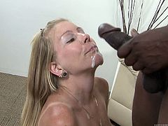 The thing that drives Tabitha crazy is a piece of a huge black cock