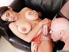 With gigantic breasts cant wait to be dicked by her hot Johnny Sins