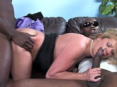 This is a damn double penetration and this juicy hottie is going to moan so fucking loud from the sizes and tastes of these black hommies.
