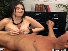 Exquisite Daphne Rosen With Immense Tits Gets Pounded In The Office