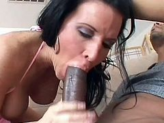 Horny Kendra Secrets likes feeling this cock in her pussy and its load splashing her clit