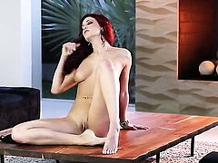 Jayden Cole poses for your viewing pleasure in solo action