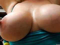 John Stagliano uses his erect dick to make Ashley Fires happy