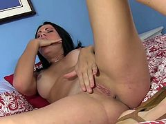 Ashli Ames stars gagging while deep sucking on this tasty cock during rough oral