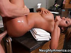 Johnny Sins enjoys pretty Priya Anjali Rais wet hole in steamy hardcore action