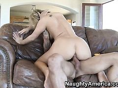 Alan Stafford touches the hottest parts of sexy Tara Lynn Foxxs body before he nails her hole