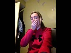Girls reaction to porn!