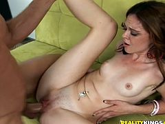 Just look at this steaming hot and angelic siren Miranda Rights. Babe loves it big and she is going to enjoy that thick cock so hard.