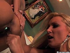 Fuck hungry chick Diana Doll and Lela Star satisfy their sexual needs and desires together