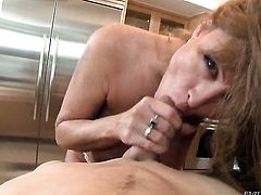 Magically sexy porn diva Darla Crane is good on her way to satisfy her fuck buddy with her hot mouth