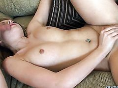 Katie Summers and her sex partner fuck like rabbits in anal scene