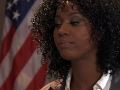Have a look at this hardcore scene where the horny ebony attorney Misty Stone is fucked in court by one of her coworkers.