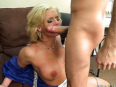 James Deen gets turned on by Phoenix Marie and then pounds her back swing
