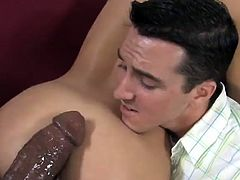 She is sucking and fucking that huge black boner while her dude is sitting next to them and watching it. Enjoy watching this amazing interracial sex.