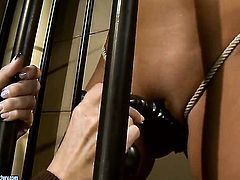 Blonde Sweet Claudia with huge jugs makes Mandy Brights sexual fantasies come to life