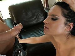 Teen Bettina Dicapri knows no limits when it comes to fucking with her hot sex partner