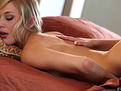 Sexy blondes spend their afternoon playing with each other hot bodies, Caillie and Hayden can't get enough of each other. Watch as these two beauties explore every inch of their tight bodies.Enjoy!