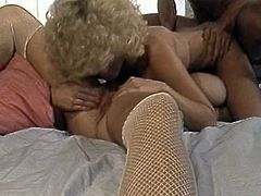 Watch this white milf getting banged in her bedroom really hard by her friend who has a large cock in The Classic Porn sex clips.