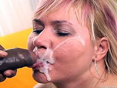 Press play on this hot compilation video where these slutty mature ladies all end up with their faces covered by cum after sucking big cocks.