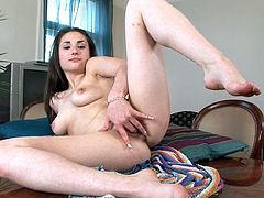 Adalyn shows off in naughty solo