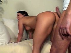 Katja receives deep anal fucking from dude. She enjoys anal sex