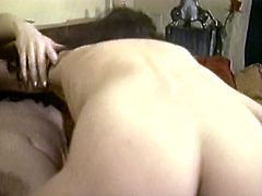 Watch this hot and kinky white bitch enjoy that cunilingus from her balck friend in her bedroom in The Classic Porn sex clips.
