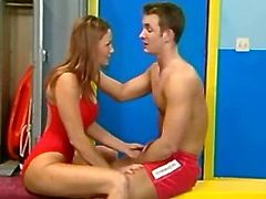 lifeguards fucking hard in the locker room