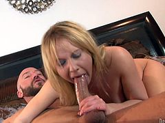 Have fun watching Aria Austin's tight asshole being stretched out by this guy's big cock as you hear her moan like never before.