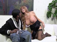 Beautiful Darla Crane Has Interracial Sex With A Black Dude