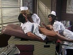 Carmen Hart and Kirsten Price, So Fucking Hot! Naughty Nympho Nurses Fuck the Patient FFM Roleplay T