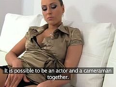 Female Agent brings you a hell of a free porn video where you can see how a hot brunette slut gets pounded hard on the couch while assuming very interesting poses.
