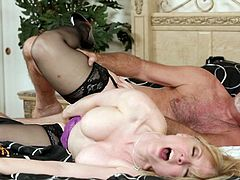 Nina Hartley is a hot mature who loves to get nasty and fuck like true sluts